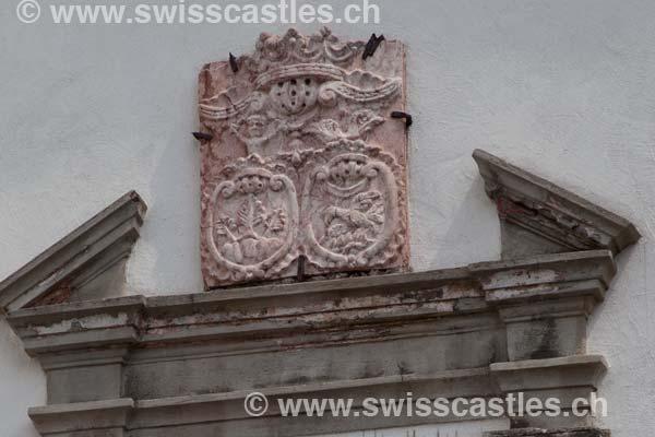 Graubuenden grisons : Schloss Brandis à Maienfeld chateau de brandis