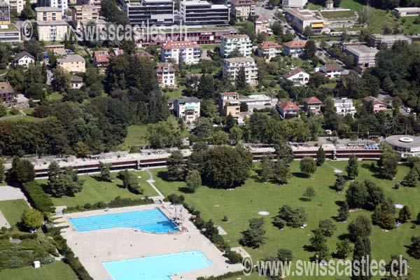 Lausanne vues aeriennes luftfotografie aerial for Bellerive lausanne piscine