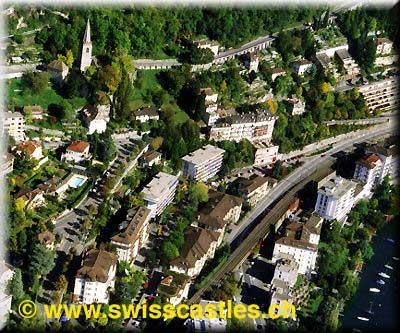 Montreux vues aeriennes luftfotografie aerial for Chambre commerciale 13 octobre 1998