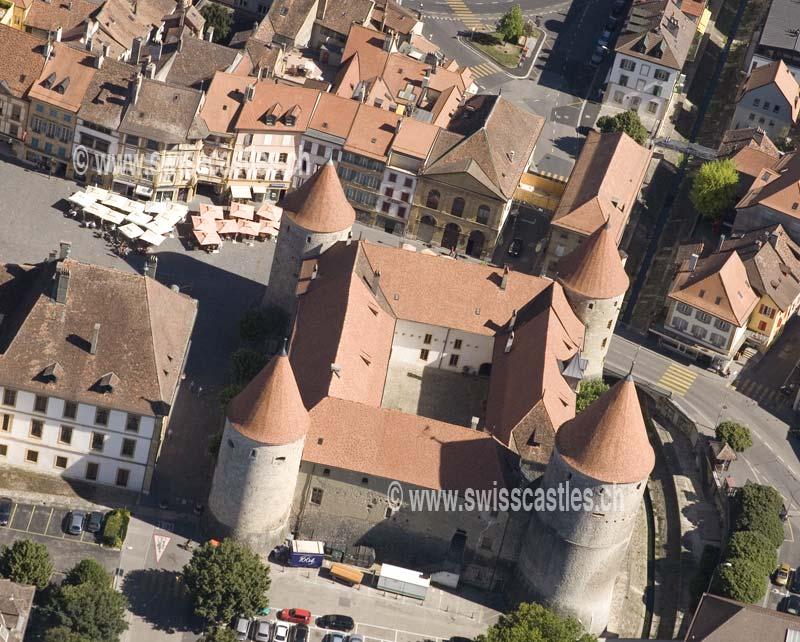 Vaud chateau de yverdon les bains for Location yverdon les bain